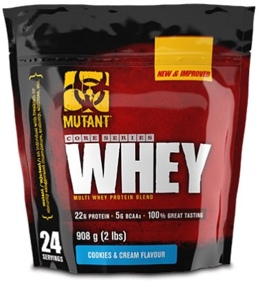 Mutant Whey Cookies and Cream (908 gr)