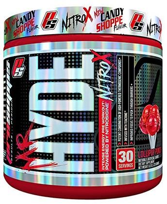 Mr. Hyde Nitro-X Lollipop Punch (231 gr)