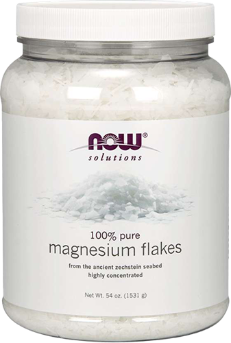 NOW Foods 100% Pure Magnesium Flakes (1531 gr)