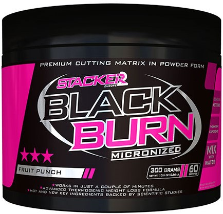 Black Burn Micronized Fruit Punch (300 gr)