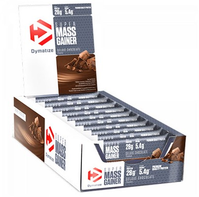 Dymatize Mass Gainer Bar Chocolate (10 x 90 gr)