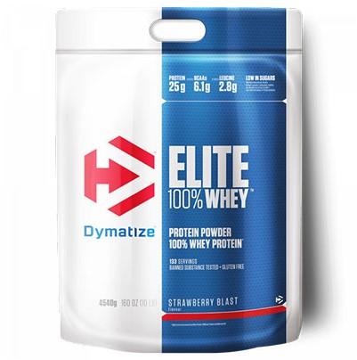Dymatize Elite Whey Protein Strawberry (4540 gr)