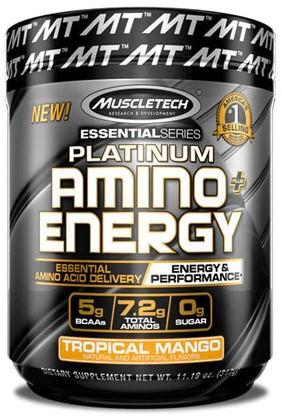 Platinum Amino Energy Tropical Mango (317 gr)