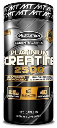 Platinum Creatine 2500 (120 Caps)