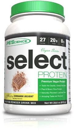 PES Select Vegan Protein Cinnamon Delight (918 gr)