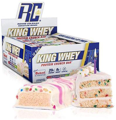 King Whey Protein Crunch Bar (12 x 57 gr)