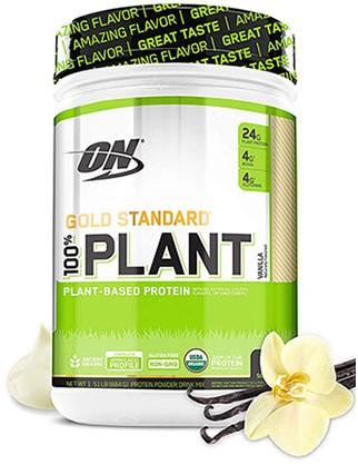 Gold Standard 100% Plant Vanilla (684 gr)
