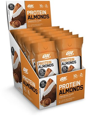 Protein Almonds Cinnamon Roll (12 x 43 gr)