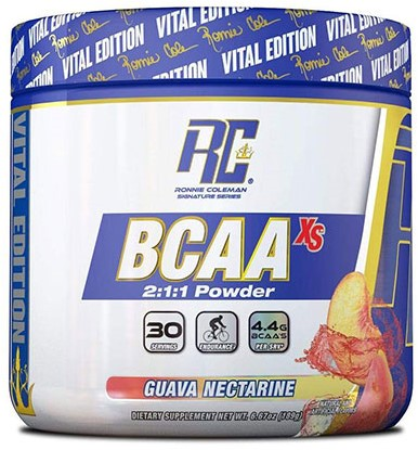 BCAA-XS Powder Guava Nectarine (200 gr)