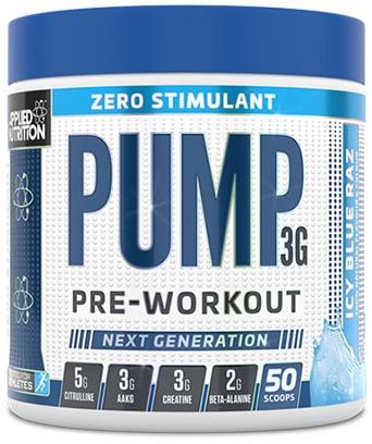 Applied Nutrition Pump 3G Zero Blue Raspberry (375 gr)