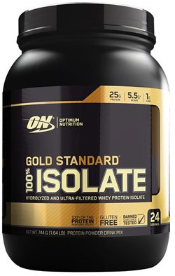 Gold Standard 100% Isolate Strawberry (744 gr)
