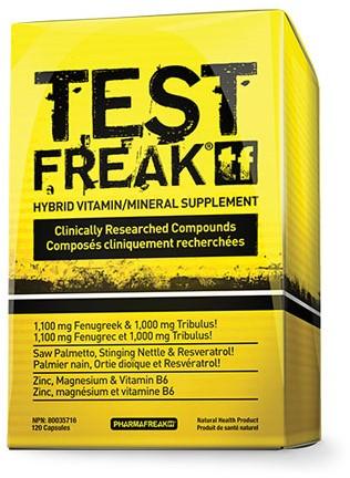 PharmaFreak Test Freak (120 caps)