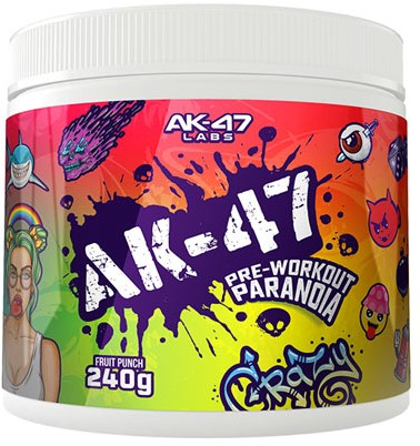 AK47 Pre-Workout Lemon Lime (240 gr)