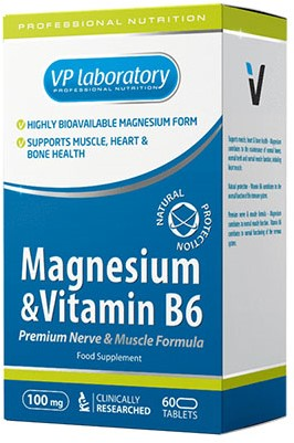 VPLab Magnesium & B6 (60 tabs)