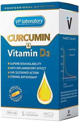 VPLab Curcumin & D3 (60 caps)