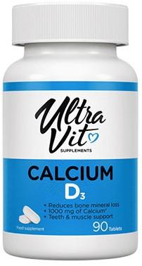 UltraVit Calcium & Vitamin D3 (90 tabs)