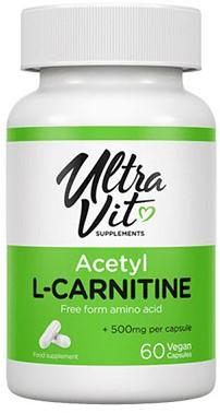 UltraVit Acetyl L-Carnitine (60 caps)