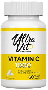 UltraVit Vitamin C (60 caps)