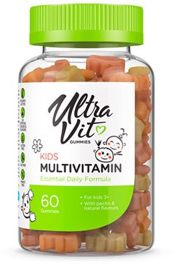 UltraVit Gummies Kids Multivitamin (60 gummies)