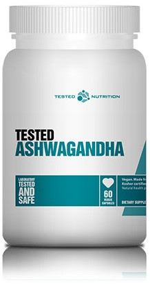 Tested Ashwaganda (60 caps)