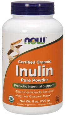 NOW Foods Inulin Pure Powder (227 gr)