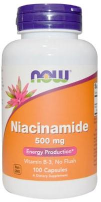 NOW Foods Niacinamide 500MG (100 Caps)