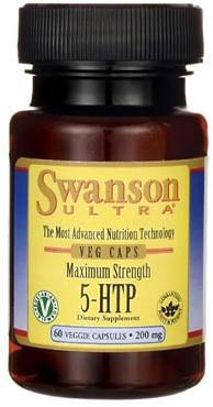 Swanson 5-HTP 200MG Maximum Strength (60 caps)