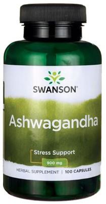 Swanson Ashwaghanda 900MG (100 Caps)