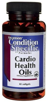 Swanson Cardio Health Oils (60 Softgels)