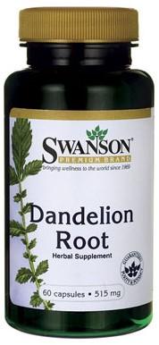 Swanson Dandelion Root 515MG (60 Caps)