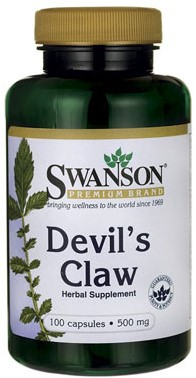 Swanson Devil's Claw 500MG (100 Caps)