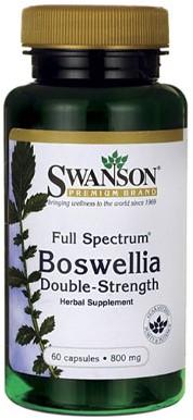 Swanson Full Spectrum Boswellia 800MG Double-Strength (60 Caps)