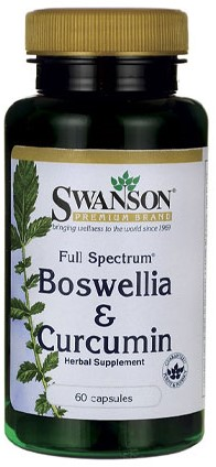 Swanson Full Spectrum Boswellia and Curcumin (60 Caps)