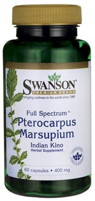 Swanson Full Spectrum Pterocarpus Marsupium 400MG (60 Caps)