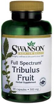 Swanson Full Spectrum Tribulis Fruit 500MG (90 Caps)