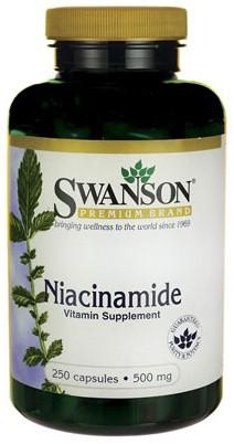 Swanson Niacinamide 500MG (250 Caps)