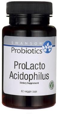 Swanson ProLacto Acidophilus (60 Caps)
