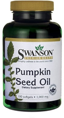 Swanson Pumpkin Seed Oil 1000MG (100 Softgels)