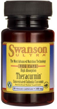 Swanson Theracurmin 100MG High Absorption (30 Caps)