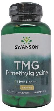 Swanson TMG (Trimethylglycine) 500MG (90 Caps)