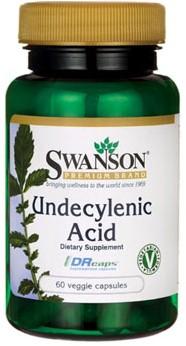 Swanson Undecylenic Acid (60 Caps)