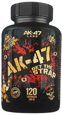 AK47 Testbooster Get the Strap (120 caps)