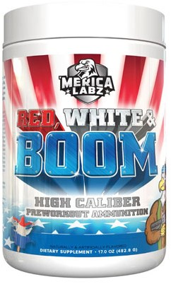 Merica Labz Red, White & Boom Blood, Sweat & Tears (483 gr)