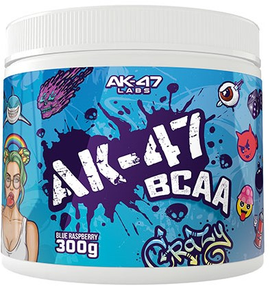 AK47 BCAA Blue Raspberry (300 gr)