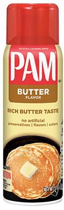 PAM Cooking Spray Butter (141 ml)