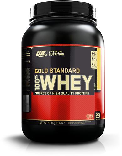 Gold Standard 100% Whey Banana Cream (908 gr)