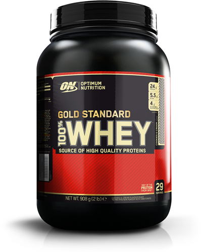 Gold Standard 100% Whey Cookies & Cream (908 gr)