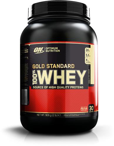 Gold Standard 100% Whey Vanilla Ice Cream (908 gr)