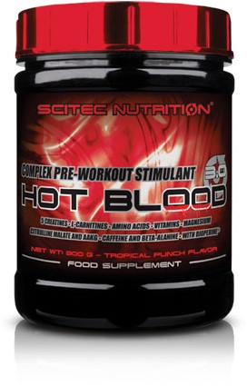 Scitec Hot Blood 3.0 Pink Lemonade (300 gr)