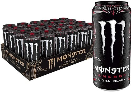 Monster Energy Ultra Black (12 x 500 ml)